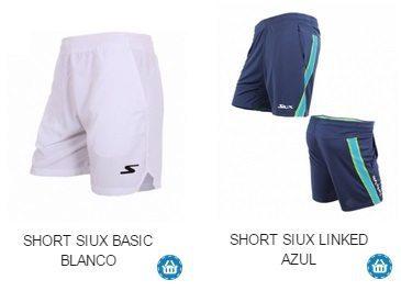 Pantalon de Padel Corto para Verano