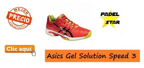 Zapatillas de Pádel 2016 Asics Gel Solution Speed 3