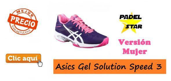 Asics Gel Solution Speed 3 MUJER 2016