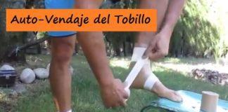 Auto Vendaje del Esguince de Tobillo