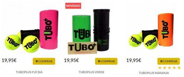 Tubo Plus para Pelotas de Pádel