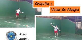 Ejercicio de Chiquita Más Volea de Ataque