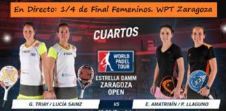 World Padel Tour Zaragoza en Directo