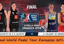 Video de la Final del World Padel Tour Femenino Zaragoza 2016