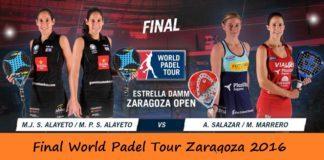 Video de la Final del World Padel Tour Femenino Zaragoza 2016