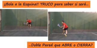 Truco sobre la doble pared