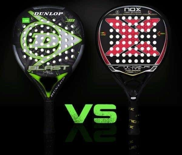 33085270 Dunlop Blast (Juani Mieres) vs Nox Stinger Elite Pro (Miguel Lamperti) |  PadelStar