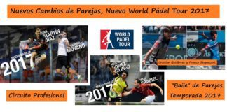 Parejas World Pádel Tour 2017
