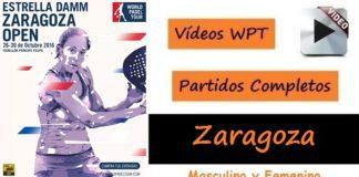 Partidos Completos World Padel Tour Zaragoza 2016