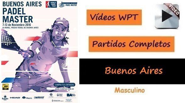 Vídeos Partidos de Pádel WPT Buenos Aires