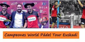 Campeones World Padel Tour San Sebastian