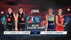 Final Femenina World Padel Tour San Sebastian