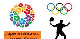 Será el Pádel Deporte Olímpico