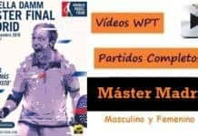 Partidos Completos Master Padel Madrid 2016