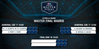 Partidos Semifinales Femeninas Master Padel 2016