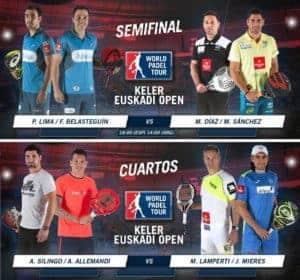 Partidos Semifinales World Padel Tour San Sebastian