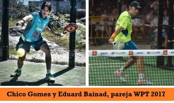 Chico Gomes y Eduard Bainad Pareja World Padel Tour 2017
