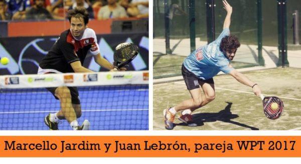 Marcello Jardim y Juan Lebron World Padel Tour 2017
