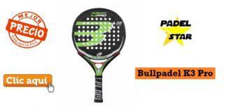 Pala Bull Padel K3 Pro Barata