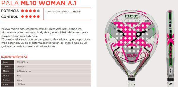 Pala NOX ML10 WOMAN A.1