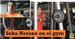 Seba Nerone en el Gimnasio