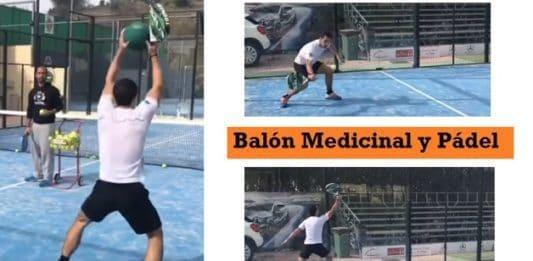 Balon Medicinal y Padel