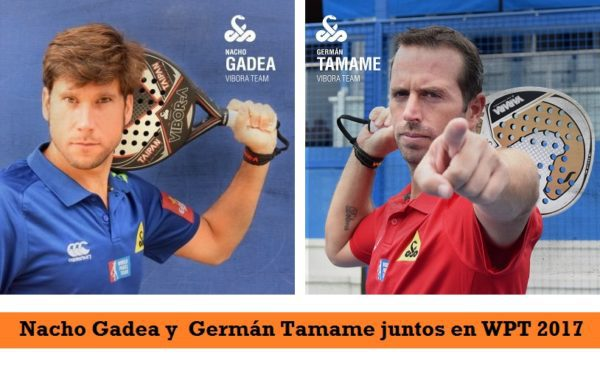 Nacho Gadea y Germán Tamame Pareja World Padel Tour 2017