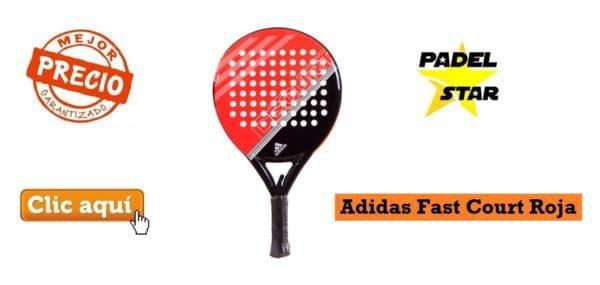 Adidas Fast Court Roja