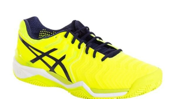 Asics Gel Resolution 7 Clay Amarillo Fluor