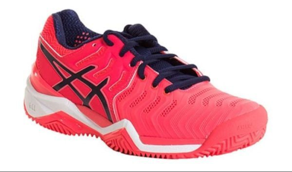 Asics Gel Resolution 7 Clay Rosa Diva