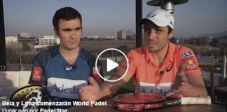 Bela y Lima preparan world padel tour 2017