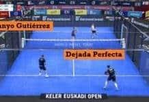 Dejada perfecta de Sanyo Gutiérrez