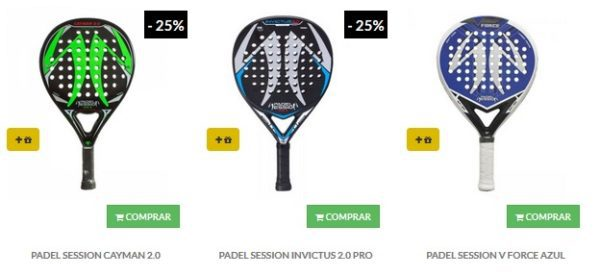 Palas RUGOSAS Padel Session