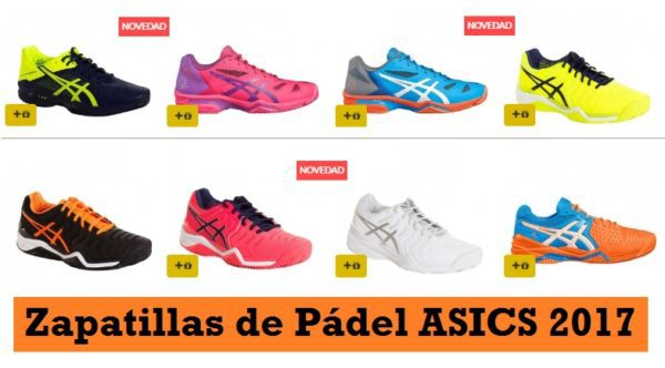 2zapatos asics junior padel