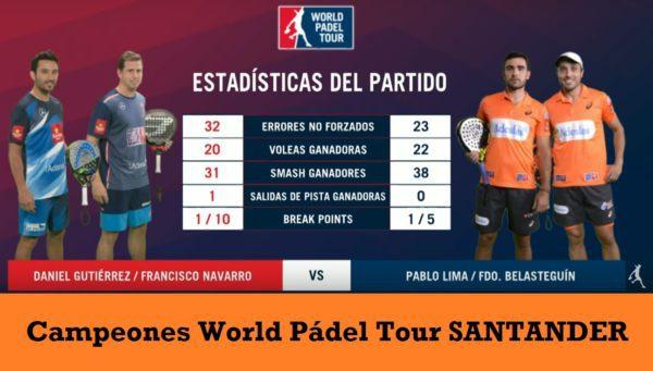 Campeones World Padel Tour Santander 2017