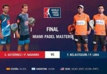 Final world padel tour miami en directo