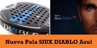Pala SIUX Diablo Azul 2017