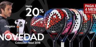 Palas Padel HEAD 2018