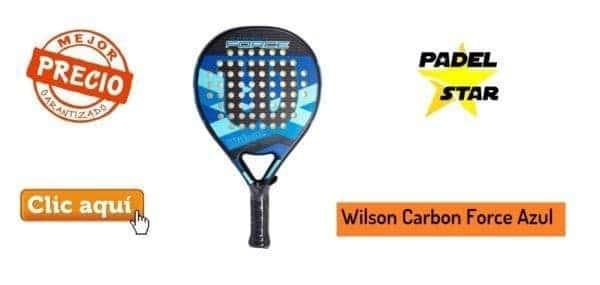 Comprar Pala Wilson Carbon Force