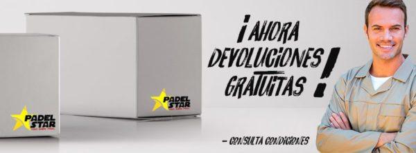 Devoluciones GRATIS en Padel Star