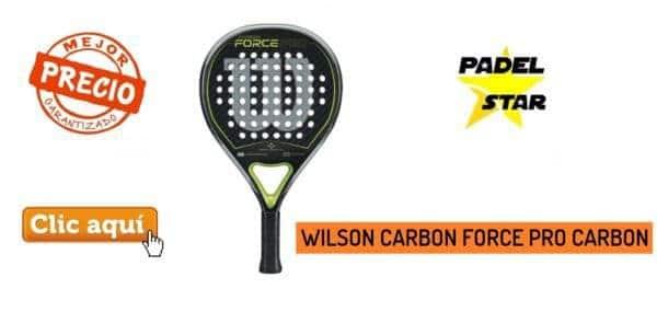 PALA WILSON CARBON FORCE PRO PADEL CARBON