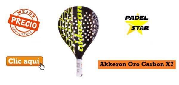 Pala CONTROL Akkeron Oro Carbon X7