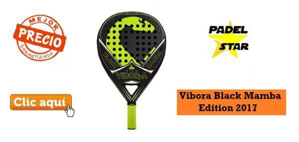 Pala POLIVALENTE Vibora Black Mamba Edition 2017