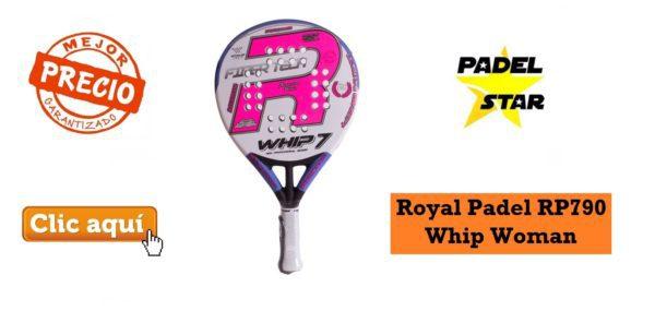 Pala para MUJER Royal Padel RP790 Whip Woman