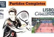 Partidos Completos World Padel Tour Lisboa Challenger 2017