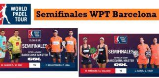Semifinales World Padel Tour Barcelona 2017