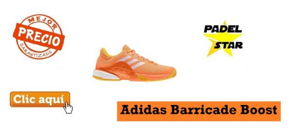new product 030df ec745 Zapatillas Adidas Barricade Boost Naranja