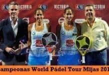Campeonas Femeninas World Padel Tour Mijas 2017