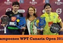 Campeones World Padel Tour Canaria 2017