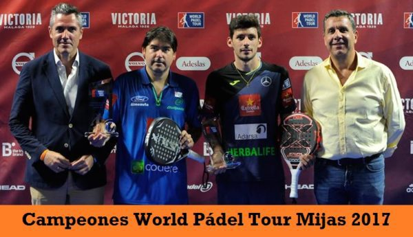 Campeones World Padel Tour Mijas 2017